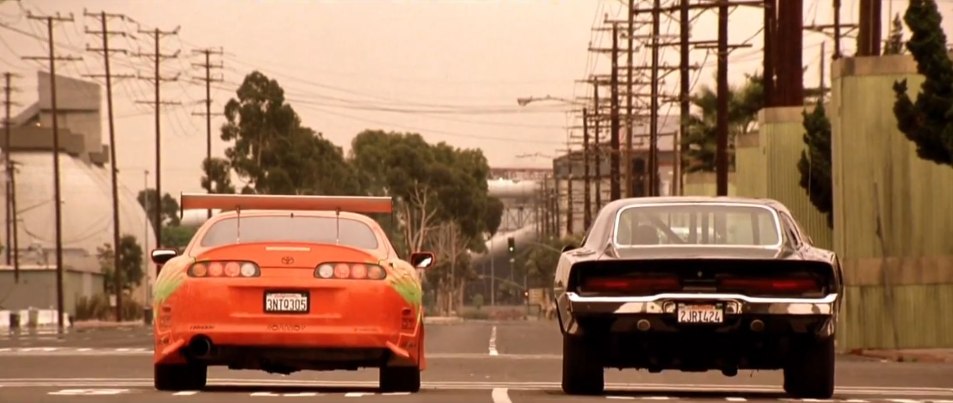 Fast and Furious Scene