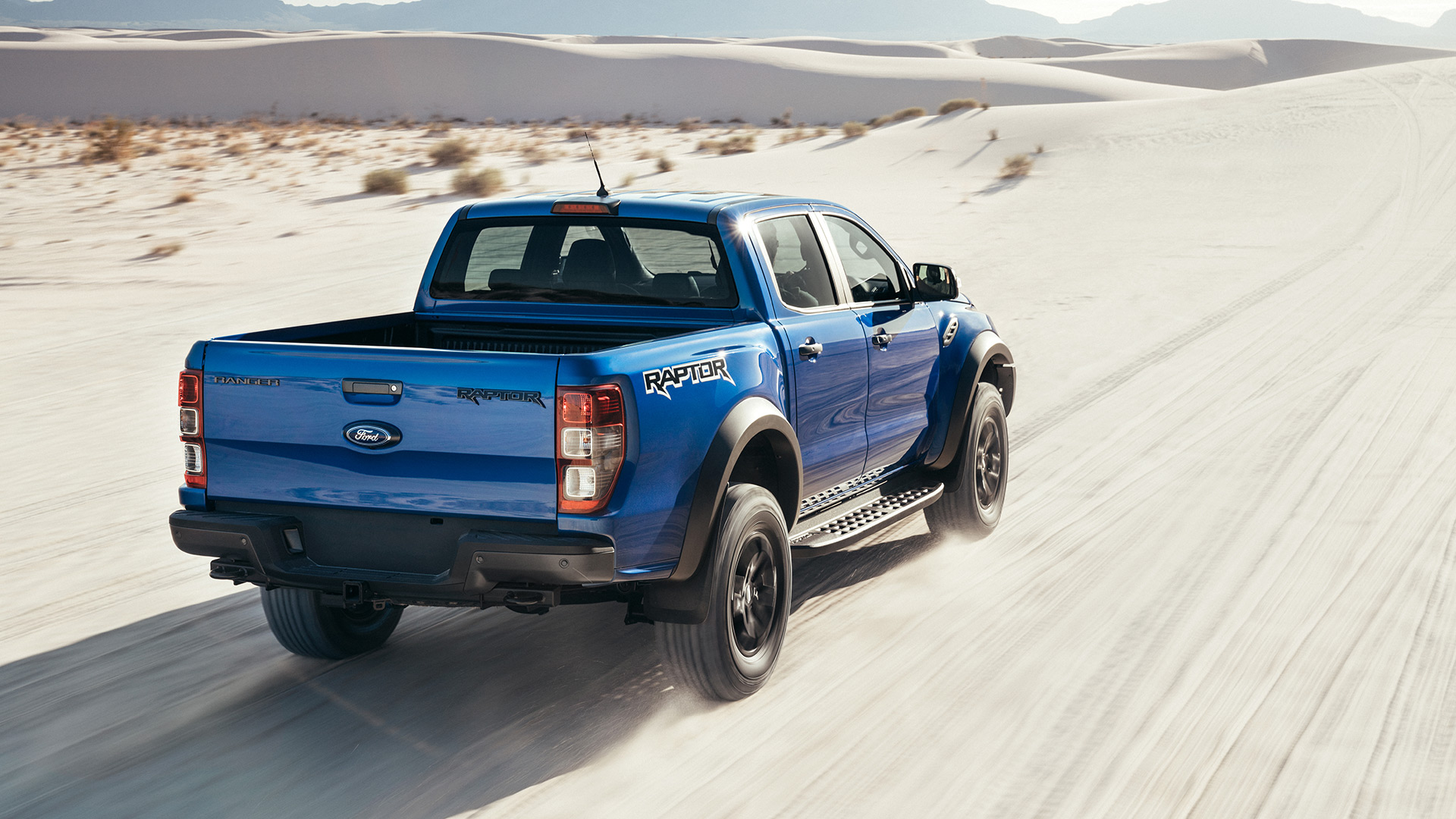 No limits to the terrain you can conquer with the Ford Ranger Raptor