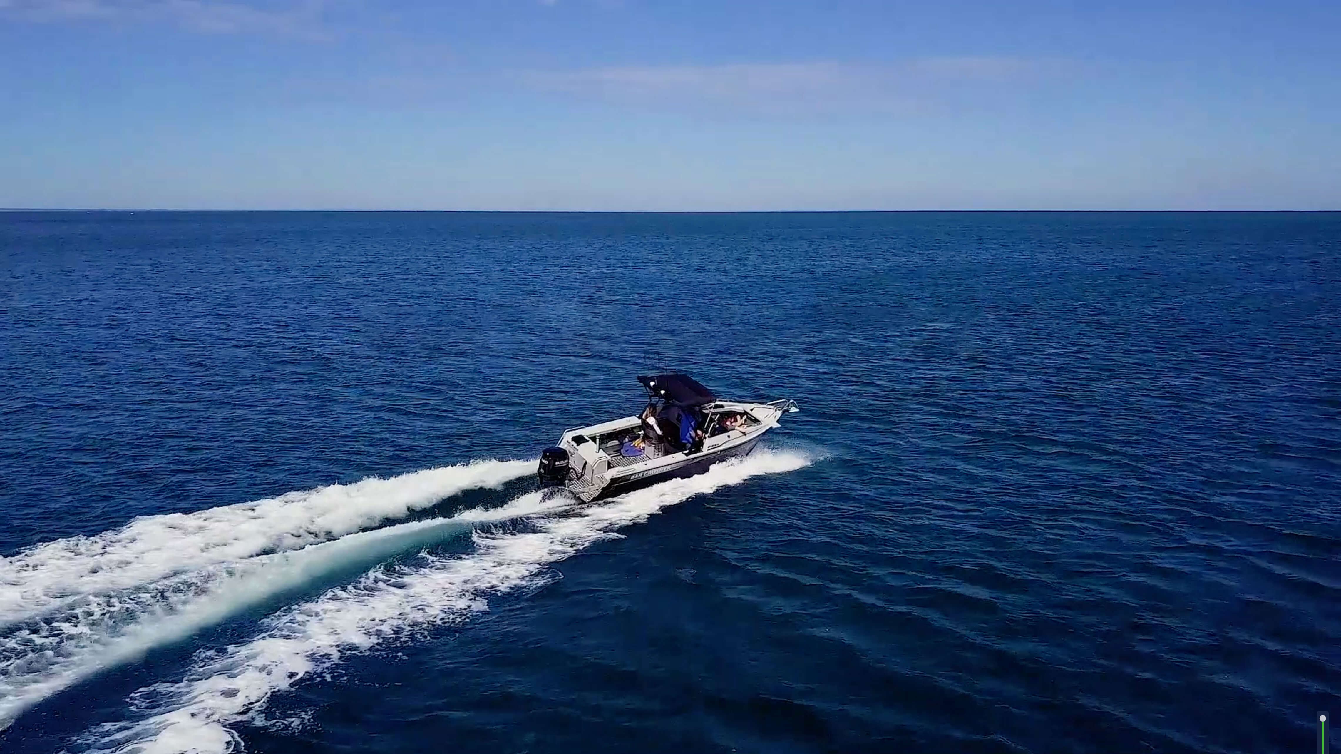 Bar Crusher 615BR boat - The ultimate family boat, fishing boat and sports boat. Cruise and play in style!