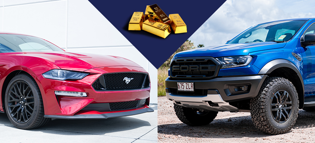 You have the chance to own both these remarkable vehicles PLUS $40,000 in gold bullion