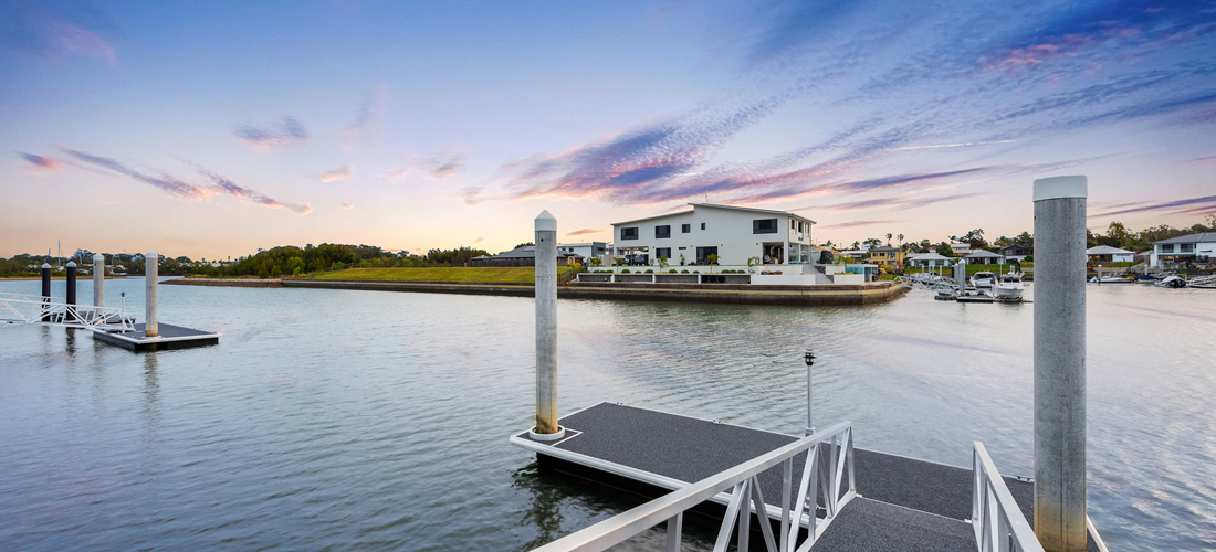 Enjoy waterfront living at its finest!