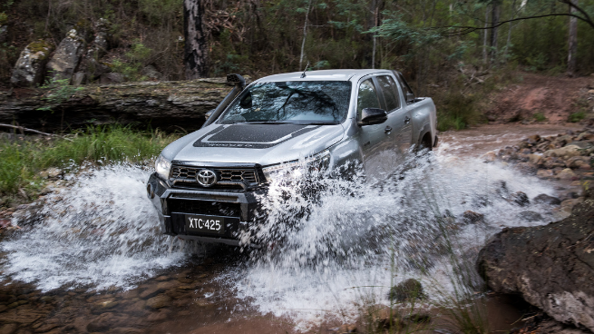 Toyota Hilux Rugged X