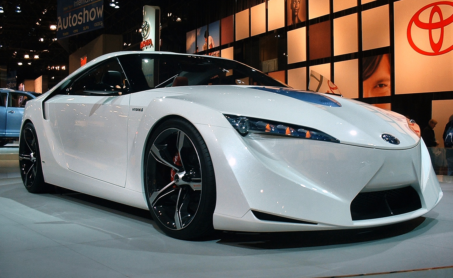 Toyota FT-HS at North American Motor Show